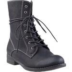 Jennifer&Jennifer šněrovací bota vysoká WS206-1