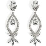 R.J.Graziano Crystal Teardrop Earrings