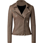 Iro Lamb Leather Biker Jacket