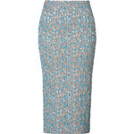 Rochas Stretch Brocade Pencil Skirt