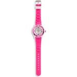 Mädchen Armbanduhr in weiss / pink von C&A