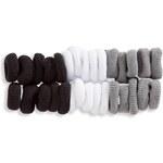 Mädchen Mini-Haargummis in schwarz / grau von C&A