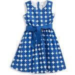 C&A Mädchen Kleid in blau / weiss von Here and There