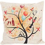 LightInTheBox Festival Tree Cotton/Linen Decorative Pillow Cover