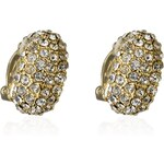 Marks and Spencer M&S Collection Gold Plated Sparkle Clip-On Diamanté Earrings