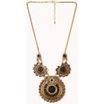FOREVER21 Heirloom Medallion Necklace