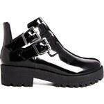 ASOS ATOM BOMB Ankle Boots - Black