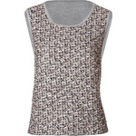 Giambattista Valli Tweed-Lurex Tank Top