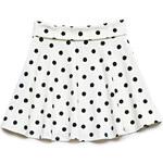 FOREVER21 girls Polka Dot Skater Skirt (Kids)