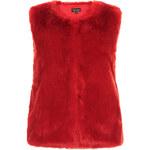 Topshop Luxe Faux Fur Boxy Gilet