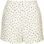 Topshop Floral Print Weave Shorts by Boutique