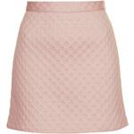 Topshop Spotty Foam Texture A-line Skirt