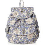 Topshop Krazy Kaleidoscope Print Backpack