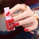 LightInTheBox Sulli A New Generation Of Pure And Fresh Fragrance Nail Polish The Twilight Series Super Zhengda Red