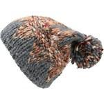s.Oliver Patterned knit hat with a pompom