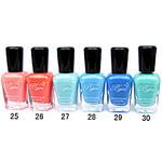 LightInTheBox French Imports Makings Pro-environment Nail Polish NO.25-30(16ml,Assorted Color)