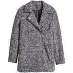 H&M Biker coat in a wool blend