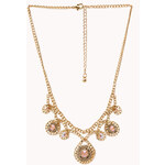 FOREVER21 Dainty Darling Rhinestoned Necklace
