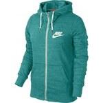 Dámská mikina - Nike GYM VINTAGE FZ HOODY zelená L