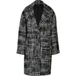 DKNY Houndstooth Oversized Coat