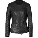 DKNY Leather Biker Jacket