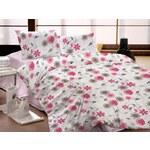 Krepové ložní prádlo Valencia růžová
