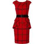 BODYFLIRT boutique Kleid/Sommerkleid kurzer Arm in rot von bonprix