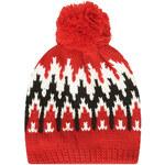 Topshop SNO Geometic Beanie Bobble Hat