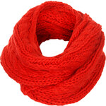 Topshop SNO Chunky Cable Knit Snood