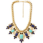 FOREVER21 Posh Bejeweled Statement Necklace