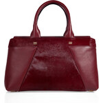 Roland Mouret Haircalf/Leather Tote