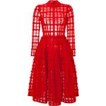 Simone Rocha Sheer Plaid Dress