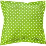 Povlak na dekorační polštářek Bari zelený