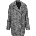 Topshop Woolly Textured Ovoid Jacket