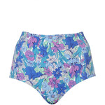 Topshop Floral High Waist Bikini Pant