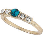 Topshop Five Row Stone Ring