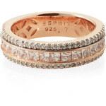 Esprit Šterlingové stříbro / růžové zlato / zirkony