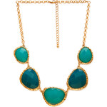FOREVER21 Ombre Faux Stone Necklace