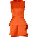 McQ Alexander McQueen Draped Satin Dress