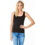 Tally Weijl Black Basic Vest Top
