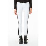 Tally Weijl White & Black Panel Skinny Pants