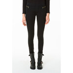 Tally Weijl Black Zip & Pocket Details Leggings