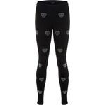 Tally Weijl Black Diamond Embellished Leggings