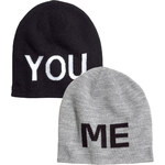 H&M 2-pack hats