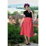ELSA rockabilly šaty inspirované padesátými léty - Retro Šaty