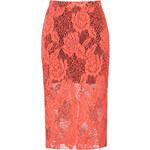 MSGM Lace Midi Skirt