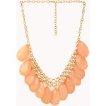 FOREVER21 Show Off Faux Stone Necklace