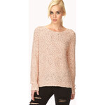 FOREVER21 Everyday Textured Knit Sweater