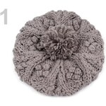 Stoklasa Čepice dámská DITA pletená (1 ks) - 1 Agate Gray