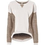 RAINBOW Sweatshirt in weiß (Rundhals) für Damen von bonprix